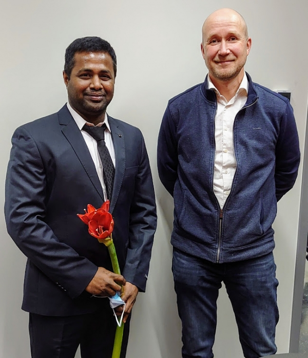 Congratulations to Prakash Lingasamy for successfully defending his PhD thesis!